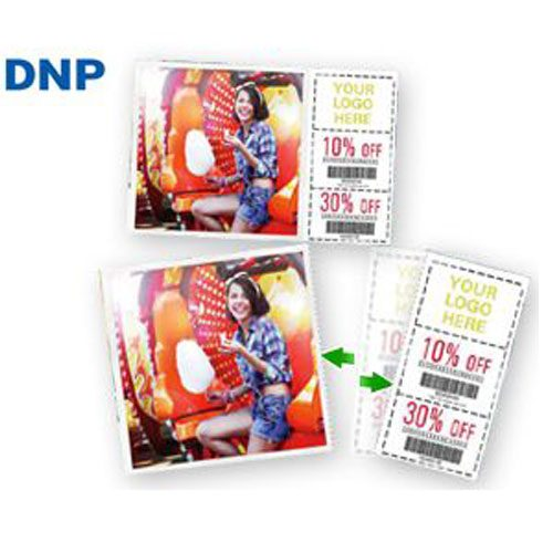 "DNP DS40 4x6""in Perforated Media - 2 Rolls"